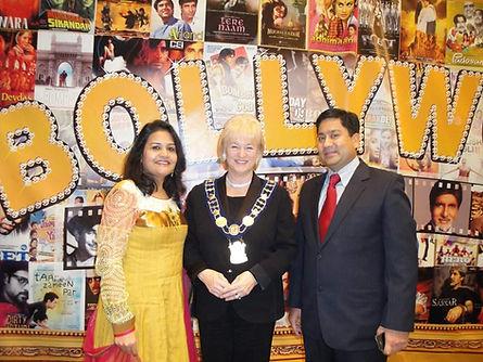 Susan Fennell, Ex-Mayor of Brampton and Hansa Heda