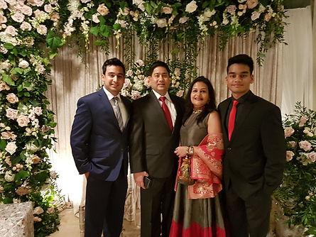My Family - Sunil, Hansa, Yash and Harsh Heda