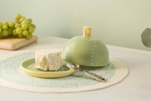 Green Butter Dish