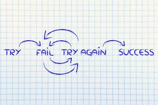 Die Kosten des Scheiterns sind der Preis für Erfahrung, Erkenntnis und Innovation!