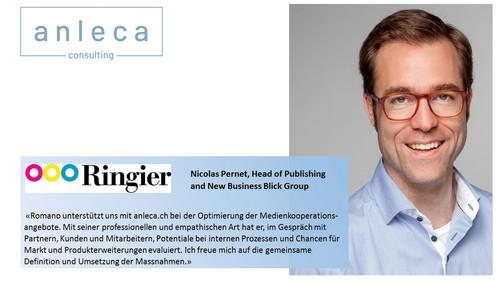 Ringier AG - ein weiterer zufriedener Kunde