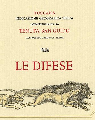 Le Difese 2016 Tenuta San Guido
