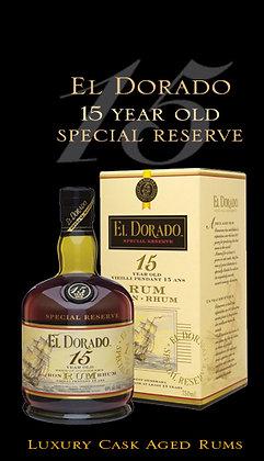 El Dorado Riserva Speciale 15 anni- Rum