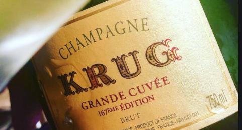 Champagne Krug Grande Cuvèe  168eme Edition (non astucciato)