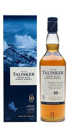 Whisky Single Malt Talisker 10 Anni