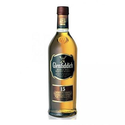 Single Malt Scotch Whisky Glenfiddich 15 years old - Glenfiddich