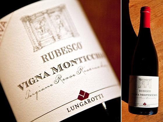 Rubesco Riserva Vigna Monticchio Docg - Lungarotti