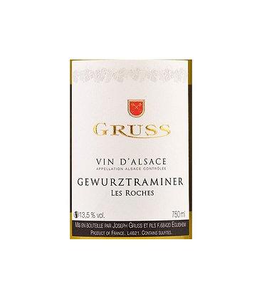 Gewurztraminer 2018 Les Roches Vin D'Alsace Gruss