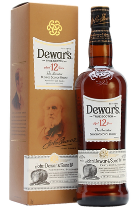 Dewar's 12 Anni Blended Scotch Whisky