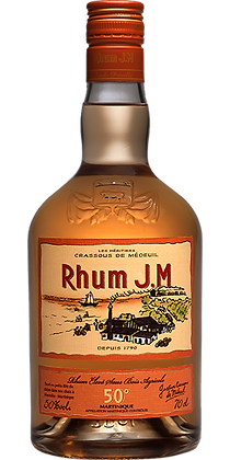 Rhum Agricole élevé sous bois - Rhum J.M.