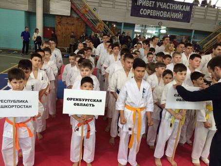Отличное выступление оренбургской команды в Самаре