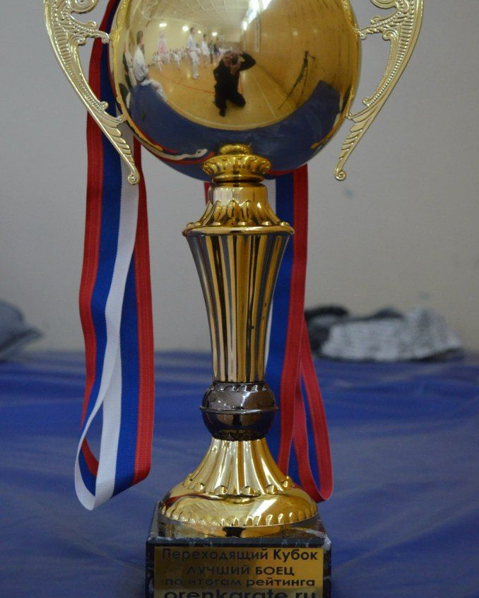 Переходящий Кубок лучшего бойца