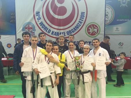 Команда Оренбургской области завоевала 8 медалей на Чемпионате и первенстве Приволжского федеральног