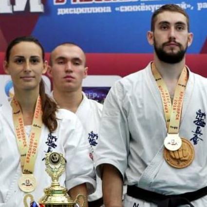 Чемпион Н. Насиров и И. Валиев