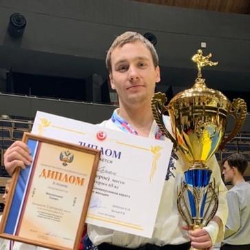 Семен Москаленко попал в сборную России на чемпионат мира, заняв второе место в чемпионате страны