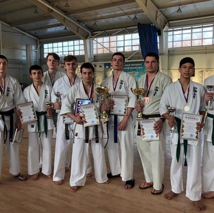 Ульяновск. Призеры второго дня соревнований старше 12 лет