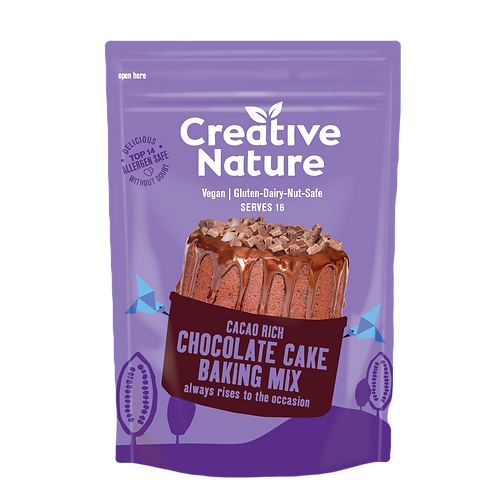 Cacao Rich Chocolate Cake Baking Mix | 300g | Creative Nature