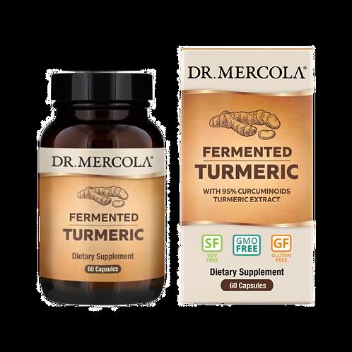 Organic Fermented Turmeric | 60 Capsules | Dr Mercola