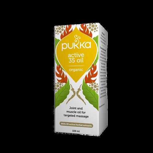 Active 35 Massage Oil | 100ml | Pukka
