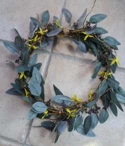 Bespoke artificial wreath