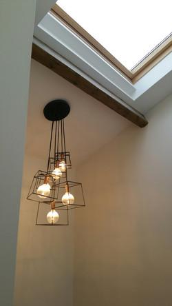 Industrial Style pendant lighting