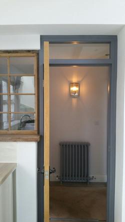 Reclaimed cast iron radiators