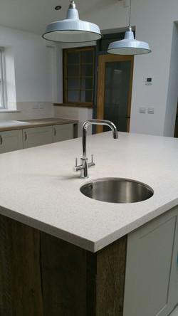 Sleek kitchen detailing