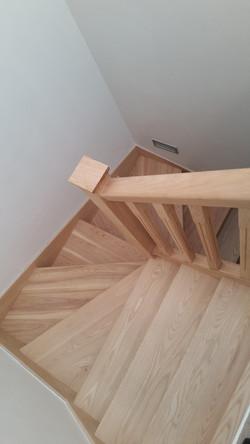 Bespoke Ash Staircase