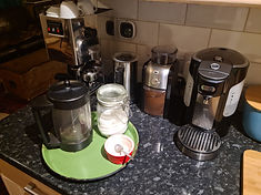 Image showing various coffee machines