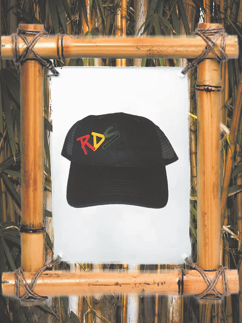 RDS Rasta patch trucker hat
