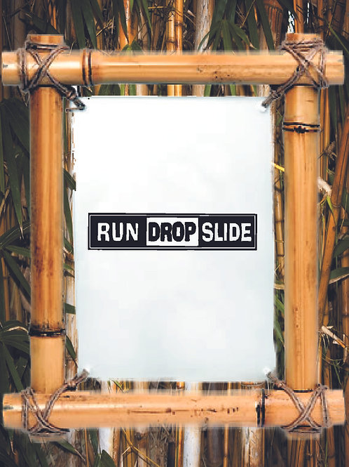 original Run Drop Slide decal