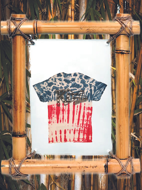 RDS Tie-Dye USA Flag T-shirt