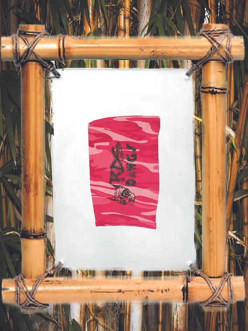 RDSdawgs Pink/Camo shirt