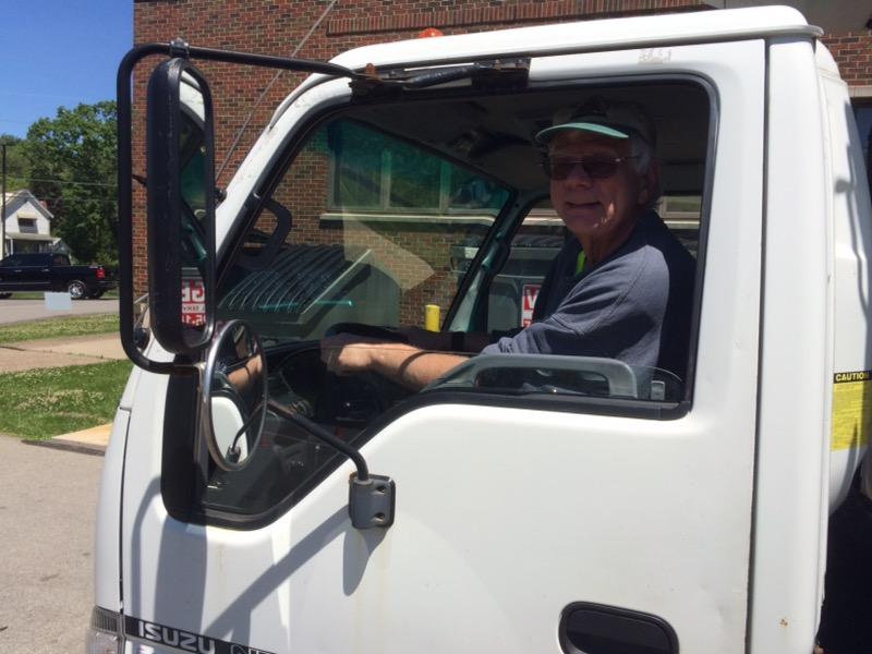 Driver Dave Weber