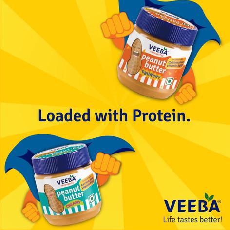 Veeba Peanut Butter launch