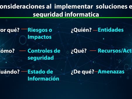 Ciberseguridad: Evaluación rápida