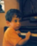 Omri Lahav, 1988 (age 3)