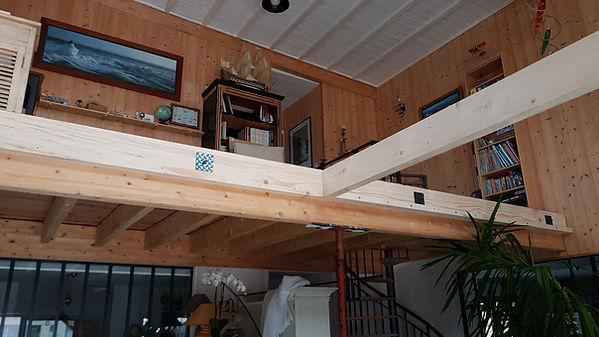 plafond verriere menuiserie guioullier sarthe maison bois