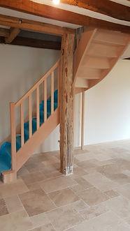 escalier bois sarthe 72 menuiserie guioullier
