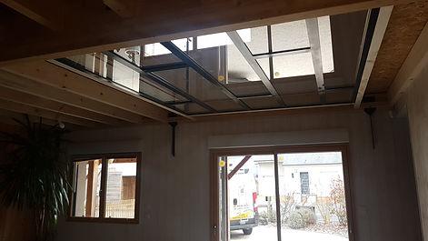 plafond verriere menuiserie sarthe 72