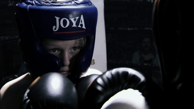 JOEY'S FIRST FIGHT