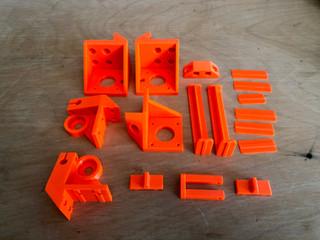 3D gedruckte Druckerersatzteile