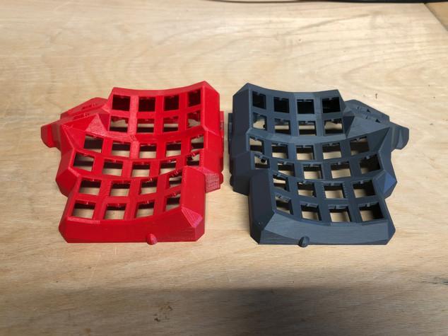 3D gedruckte Lichthalter für LED´s