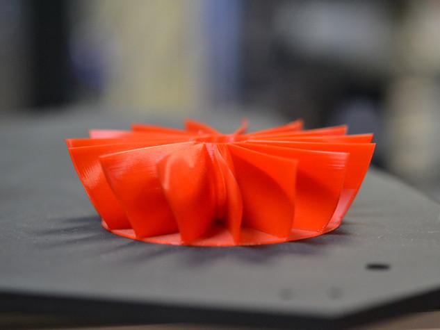 3D-Druck-Turbinenrad
