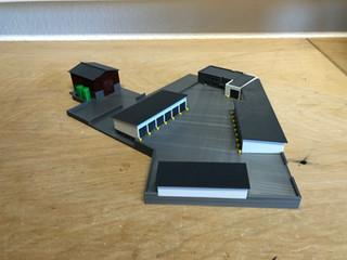 3D gedruckte Straßenmeisterei