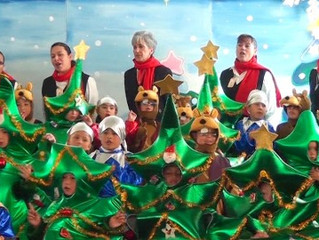 Celebraciones decembrinas en tu colegio