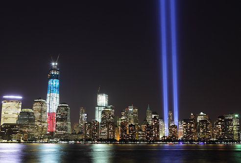 9/11 Memorial Photography Art Print