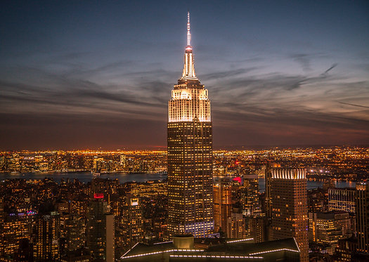 New York, Ny Empire State Building Photography Art Print