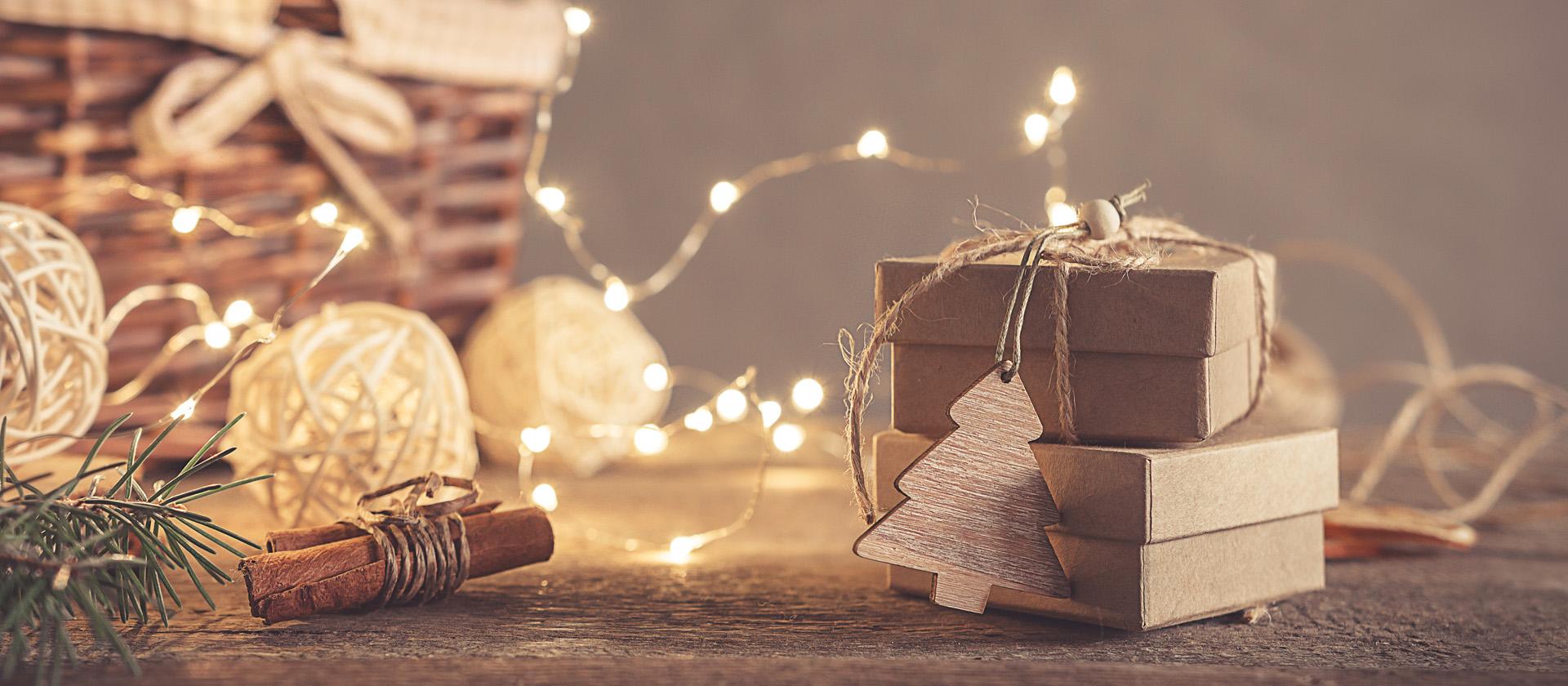プレゼントとライト