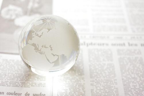 英字新聞と地球